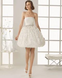 I'll be wearing a dress like this at my pub wedding ... paired with a pair of motorcycle boots. All the better to drink and move around in!