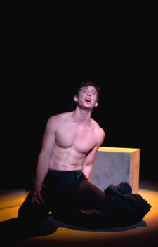 I was very distracted by Furnell's washboard abs even as he belted out an emotional number.  Photo Credit: Wyatt Biessel