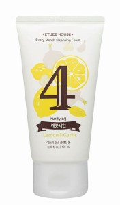 Every Month Cleansing Foam #4 LEMON & GARLIC (1)