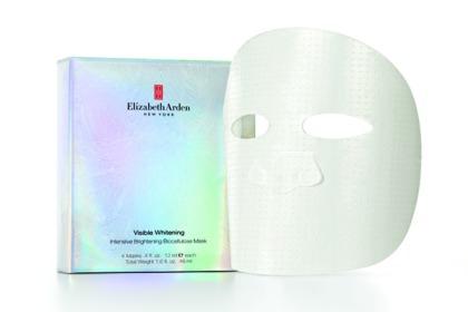 Elizabeth Arden Visible Whitening Intense Brightening Biocellulose Mask, $90