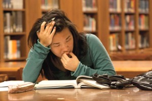Unfortunately, stressed out students are the norm in Singapore.