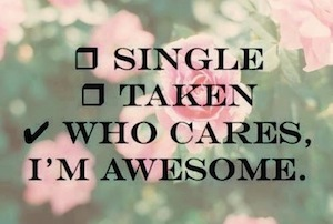 single and awesome
