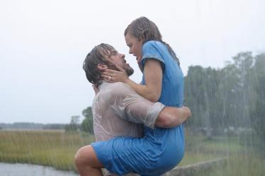 Yeah we're kinda like this when we meet at the airport, sans the dramatic thunderstorm
