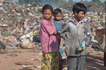 The children living in Hope Village, Cambodia