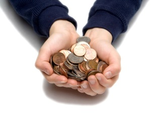 Let your child have a tangible sense of where every dollar goes.