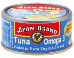 I used this tuna - already chockfull of Omega 3!