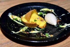 Tart Aux Citron and Onion Ice Cream, $14