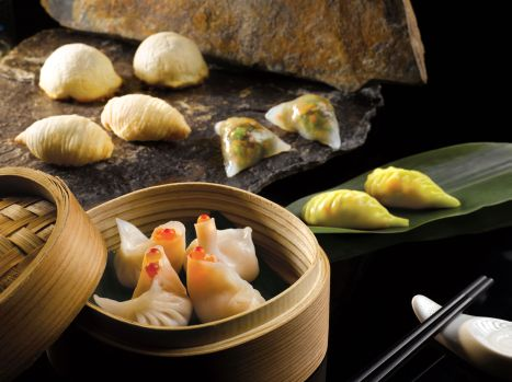 An assortment of hand-crafted dim sum