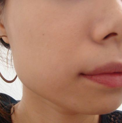 I applied the Snowise Whitening UV Compact after the Essence BB. Yay to brightened - not fair - complexion!