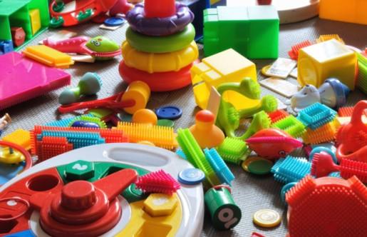 Toys. Toys everywhere.
