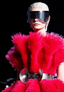 Visors were HOT in Alexander McQueen's 2012 Fall/Winter Collection