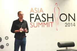Zalora MD Harry Markl at the Asia Fashion Summit 2014