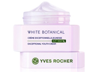 Yves Rocher White Botanical Exceptional Youth Cream - Night, $60