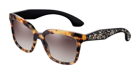 Miu Miu, available at Miu Miu boutiques and selected optical stores