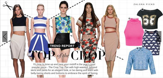 A peek at Zalora's latest trend report.