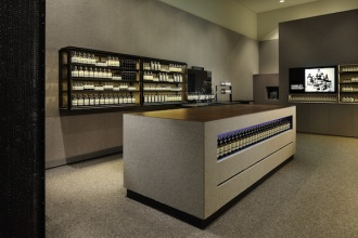 Aesop Suntec City. See what I mean when I say it looks like a dark cavern?