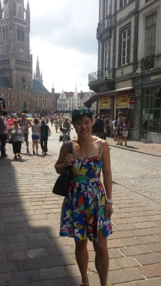 Reporting from the city of Bruges, Belgium!