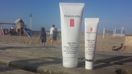 The Hand Treatment is great for treating sunburns too! And the Lip Balm is a must for preventing chapped lips.