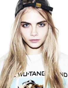 Keep calm and look (a teeny bit) like Cara Delevingne.