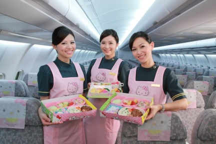 Even non-Kitty fans will appreciate the attention to detail paid by EVA Air to make these flights an awesome experience!
