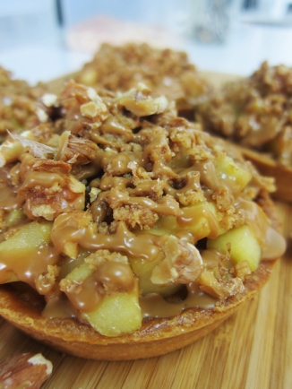 Speculoos Apple Crumble Tart by Bloomsbury Bakers (Photo credit: Cafe Fest)