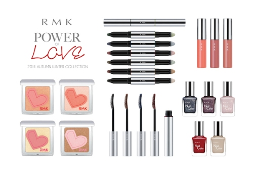 This collection from RMK is a symbol of the dual aspects of a woman's personality when it comes to love - she's equal parts strong and vulnerable.