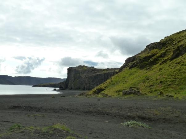 Vik i Myrdal - a black sand beach