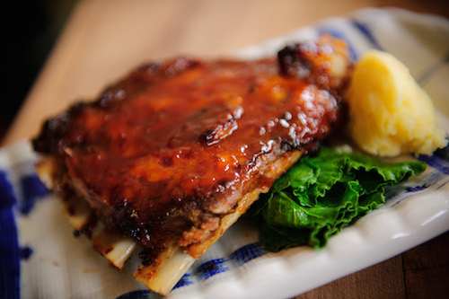 V - Baby Pork Back Ribs